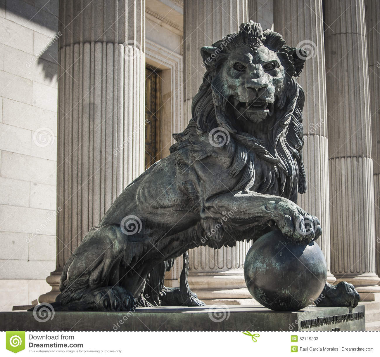 Lion Of Congress Stock Image Image Of Iron Cannons