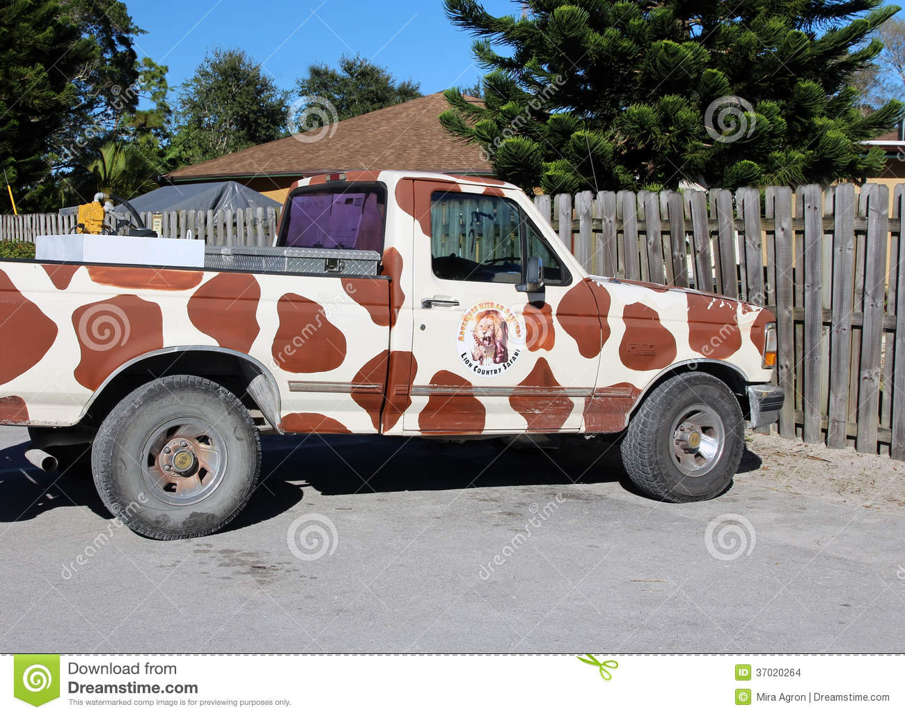 Lion Country Safari Vehicle