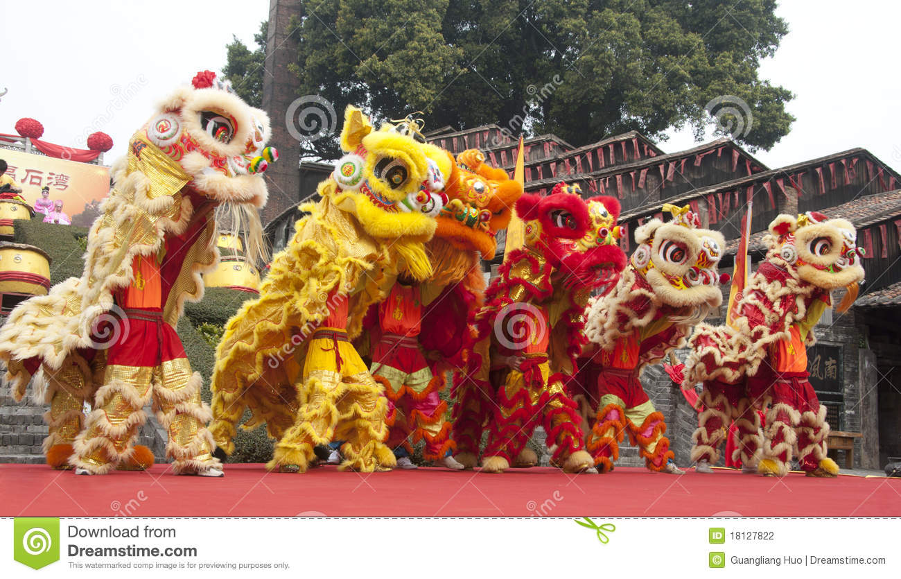 Lion Dance Editorial Photography - Image: 18127822