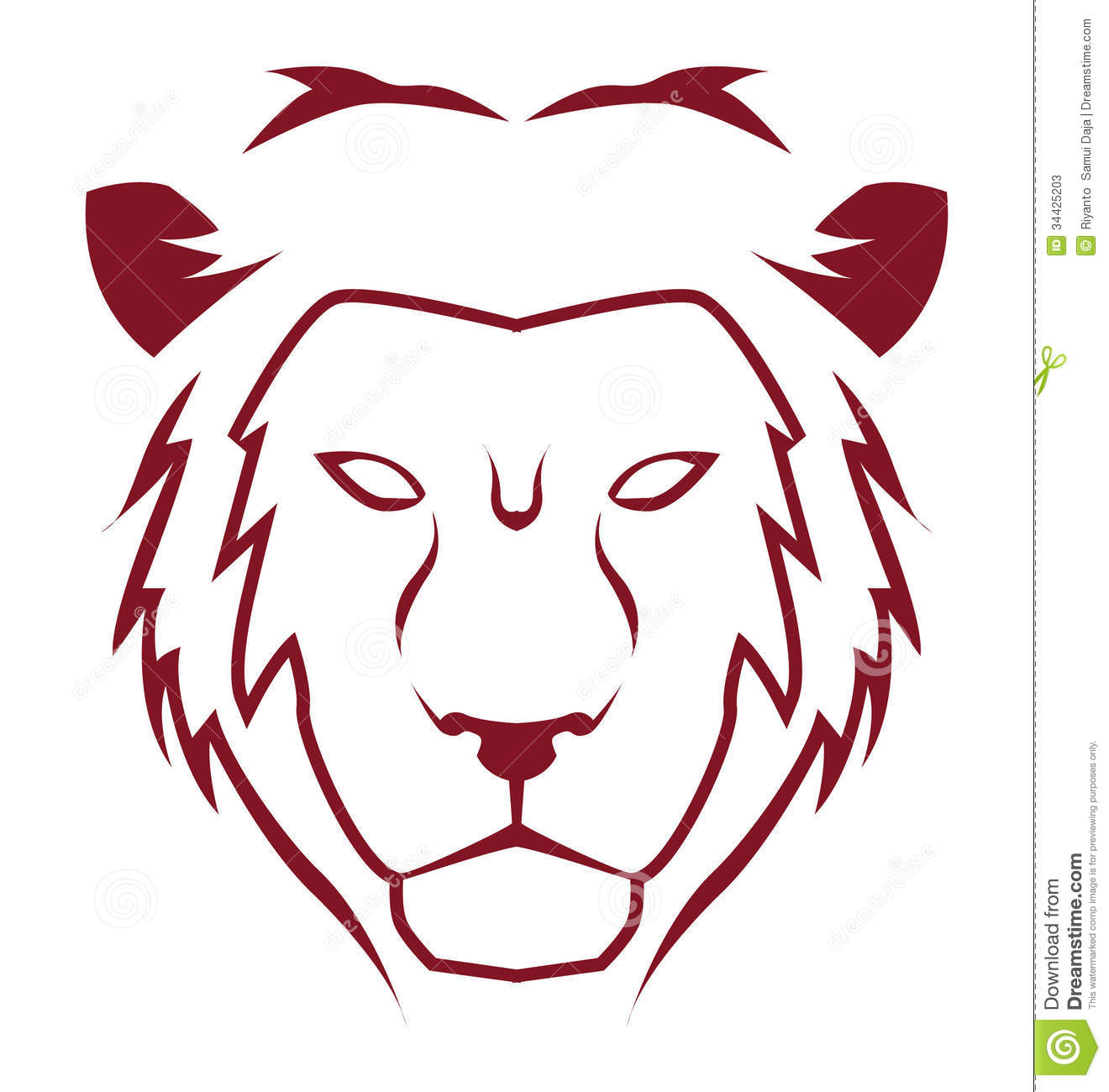 Lion Emblem Stock Photos - Image: 34425203