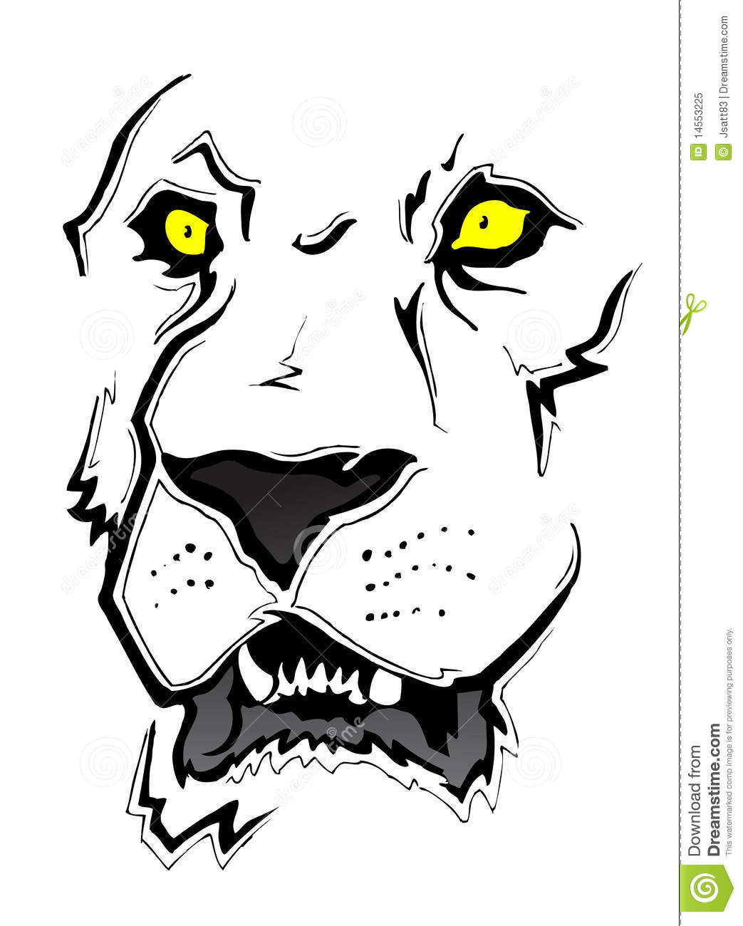 Line Drawing Lion Face : Lion face sketch royalty free stock photo image