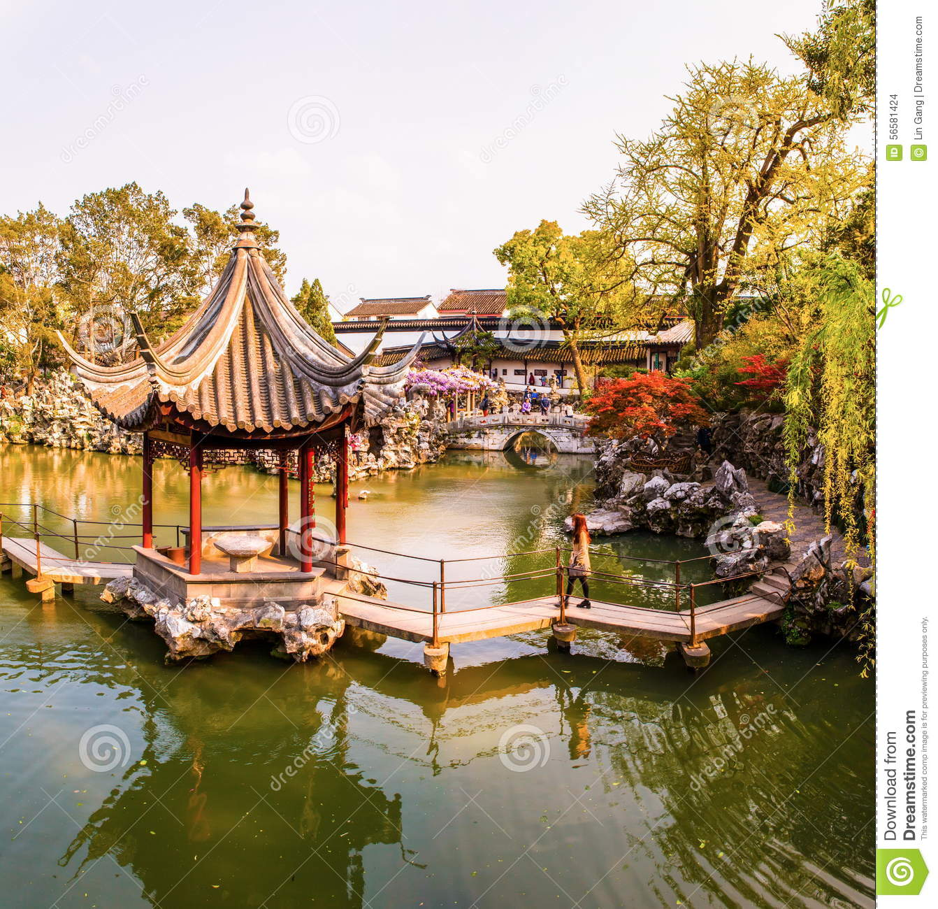 Lion Forest Garden-One Of Chinese Classical Garden In Suzhou City ...