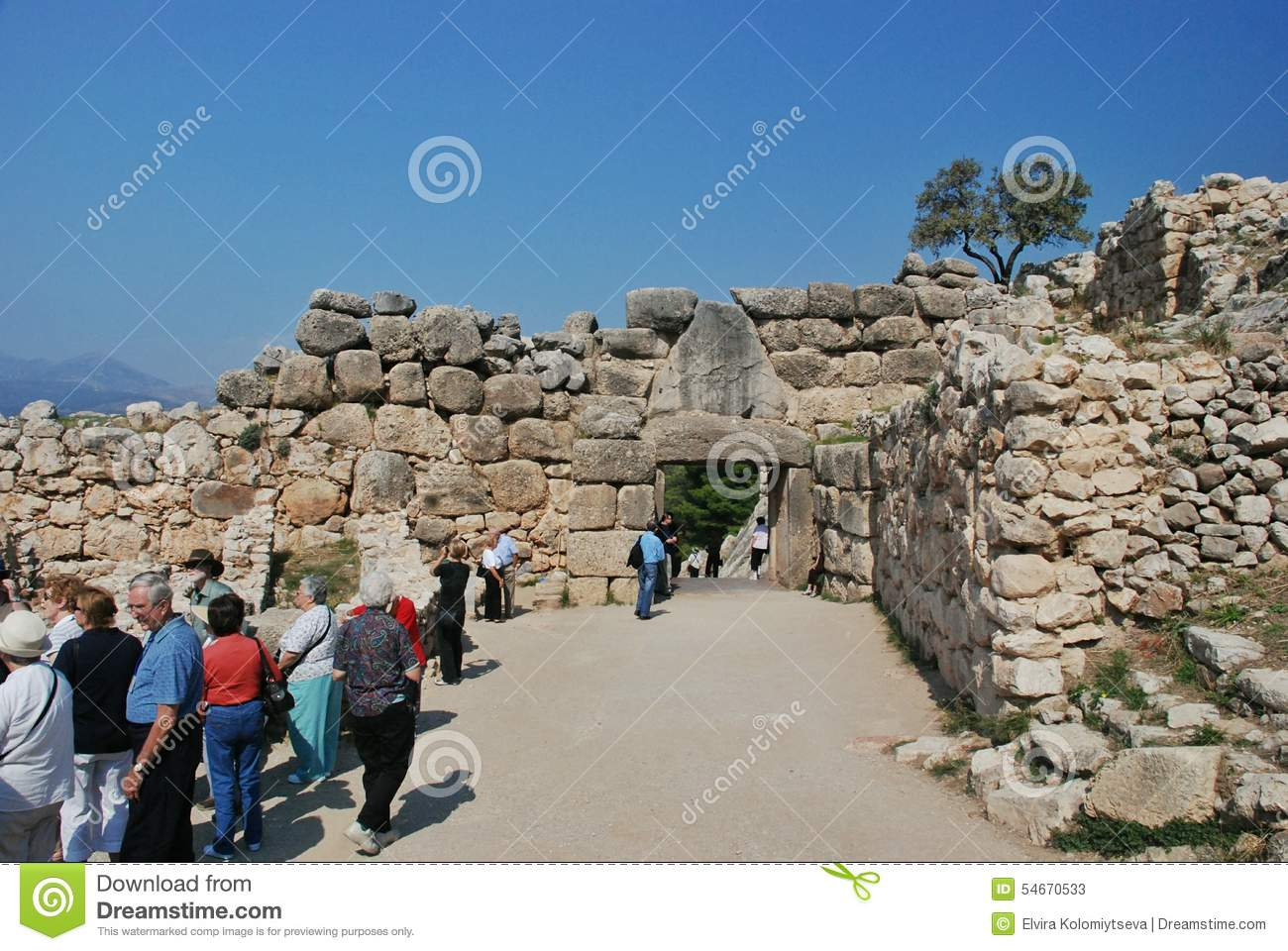 Lion Gate, Mycenae