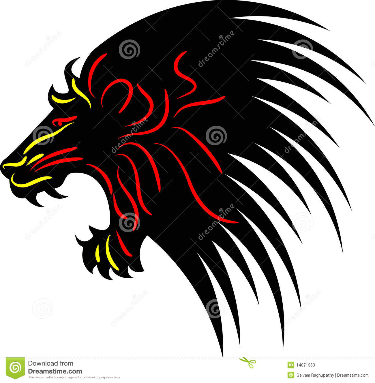 Gallery For gt Lions Head Logo
