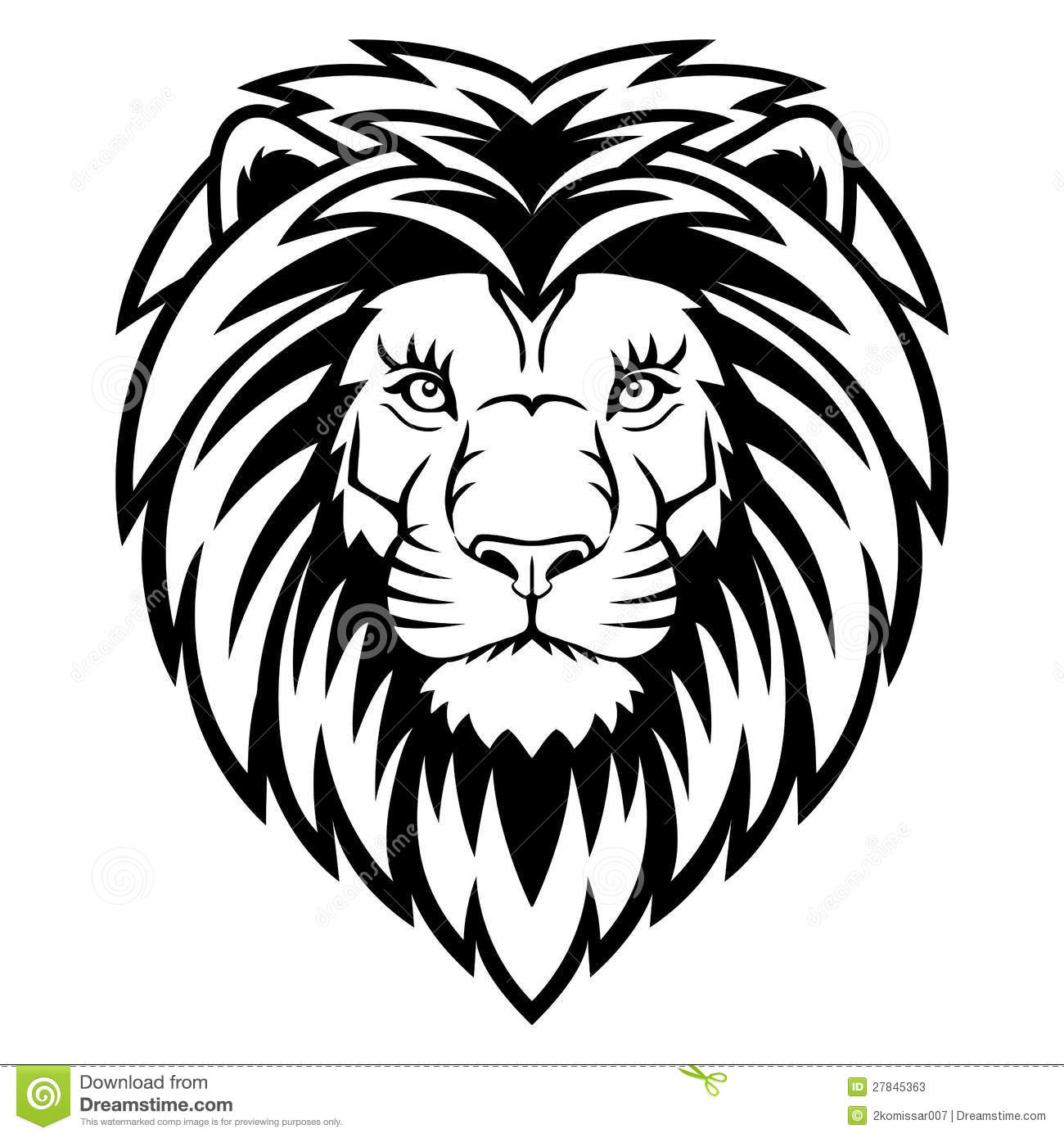 Lion Head Stock Photos Image 27845363