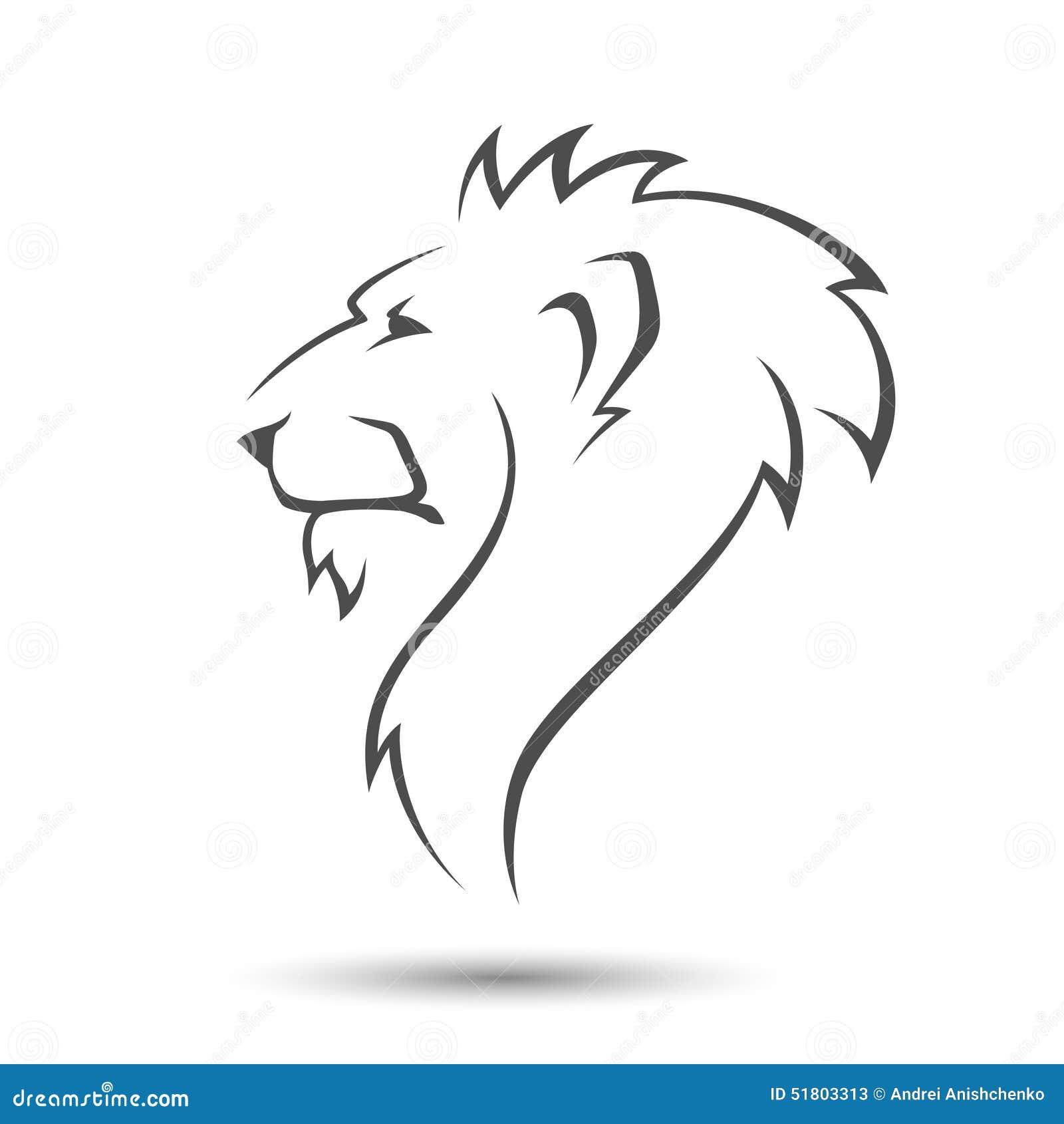 Lion Head Illustration De Vecteur Image 51803313