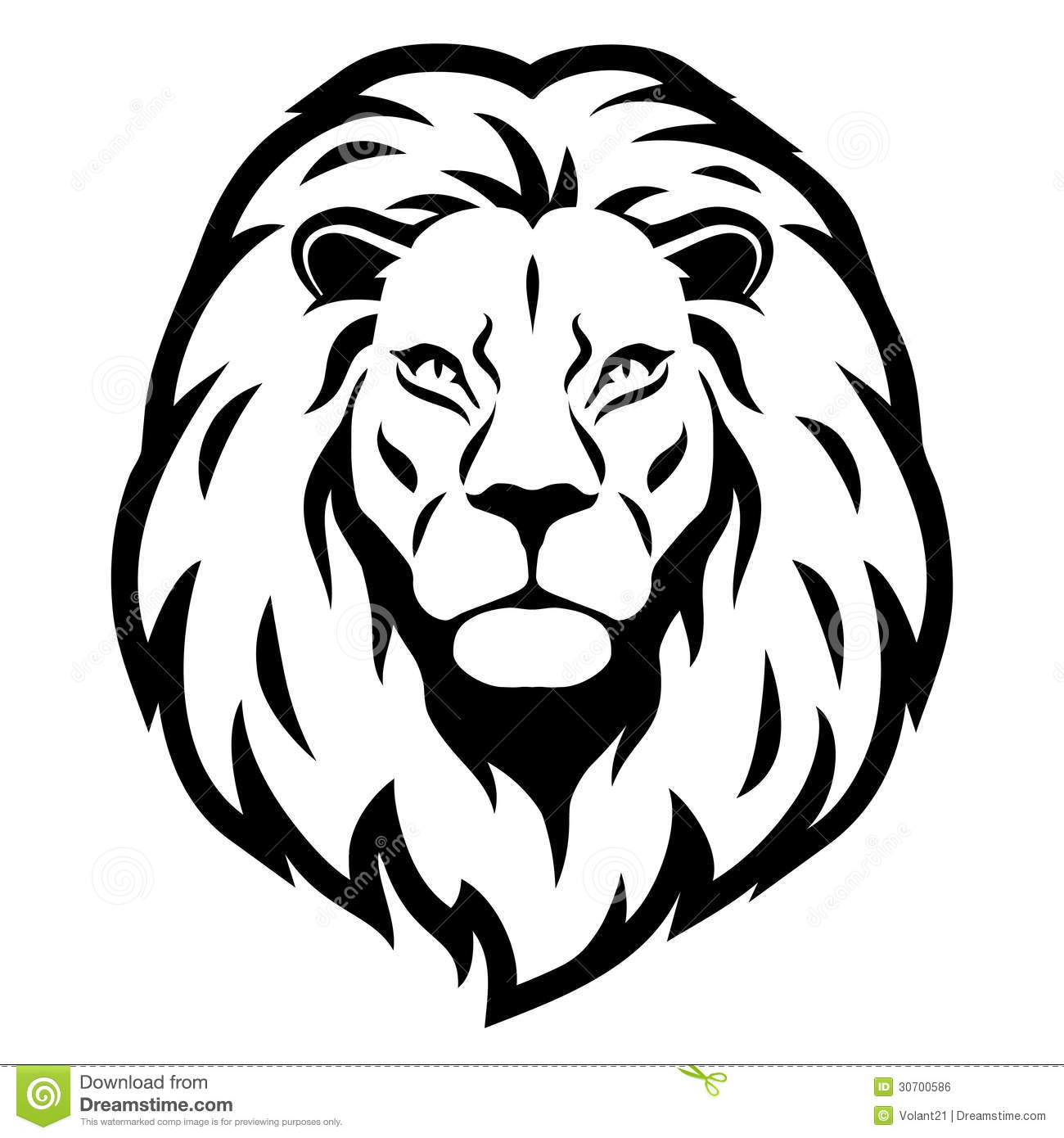 Lion Head Royalty Free Stock Image - Image: 30700586