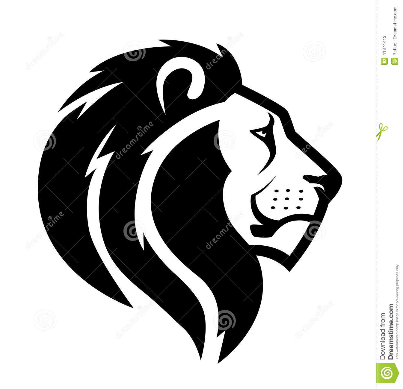 Lion head symbol illustration 41374413 megapixl biocorpaavc Gallery