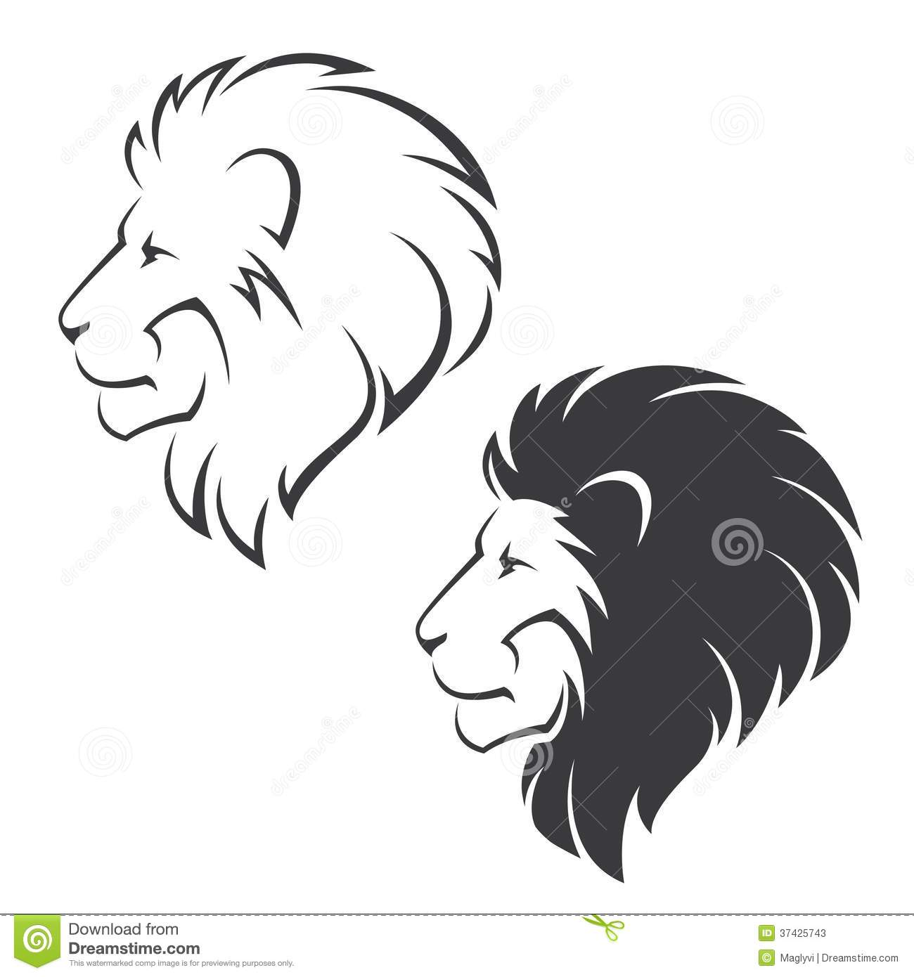 Lion head symbol stock vector illustration of king strength lion head symbol biocorpaavc Gallery