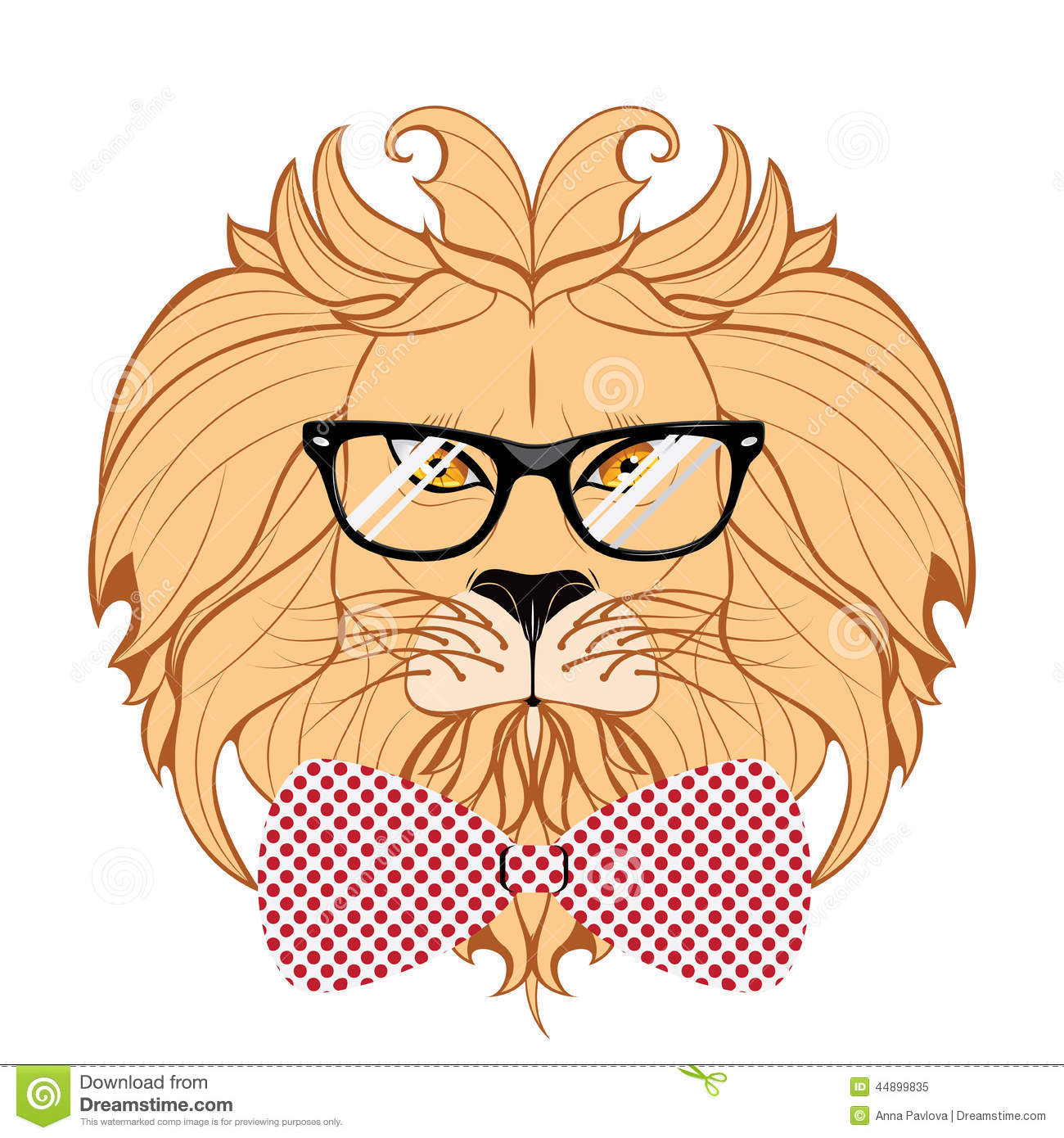 Lion hipster - photo#51