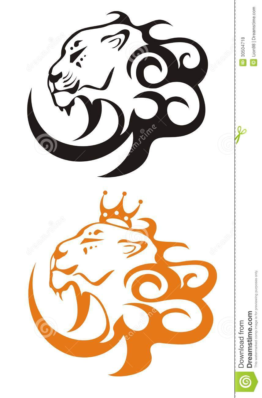 Lion king vector lion symbols stock photo image of mammal lion king vector lion symbols biocorpaavc Gallery
