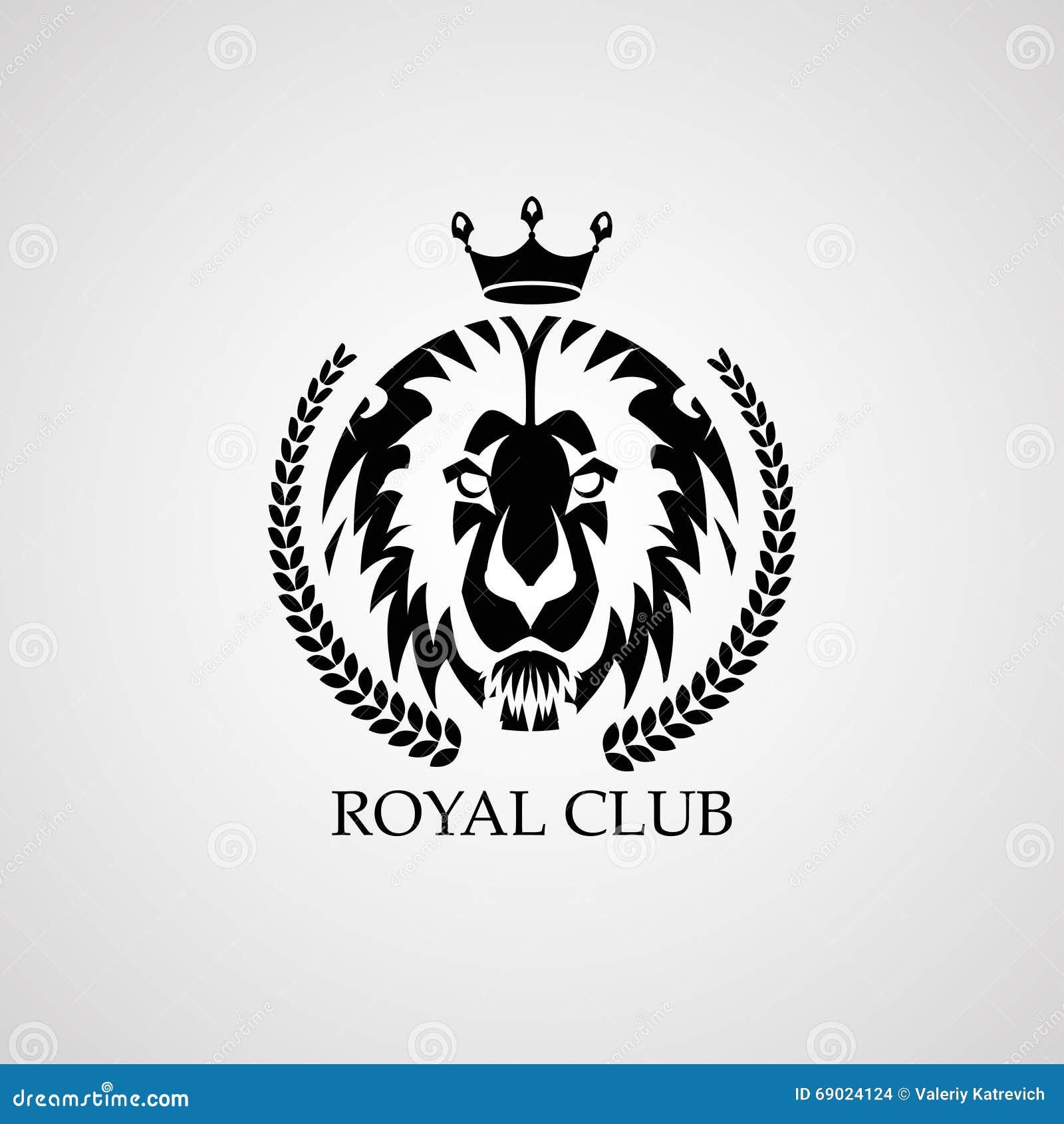 royal lion vector