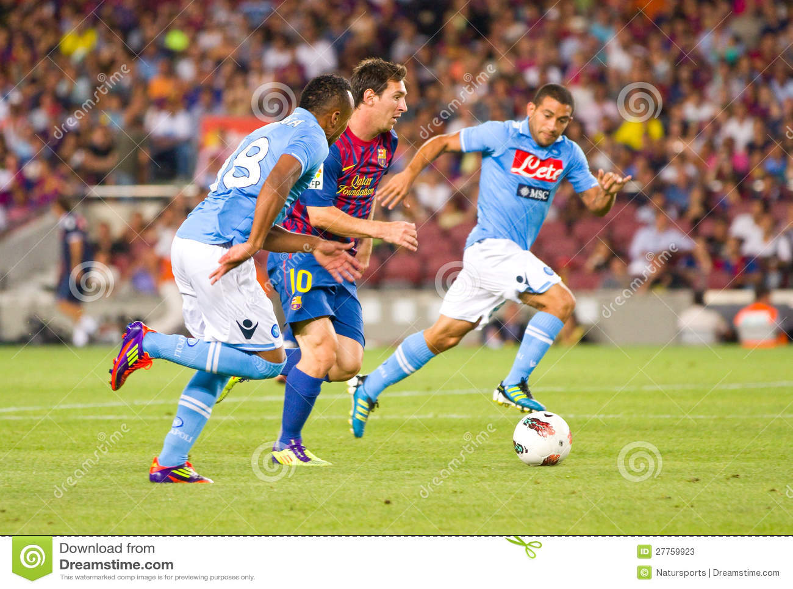 Lion Messi ruisselant