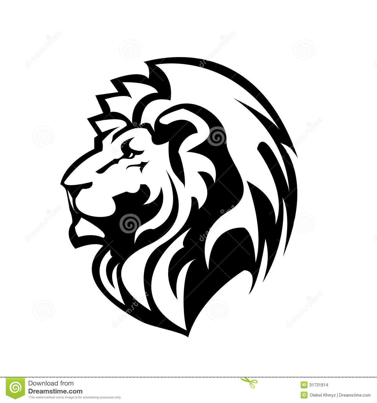 Stock Images Lion Outline Image 31731914