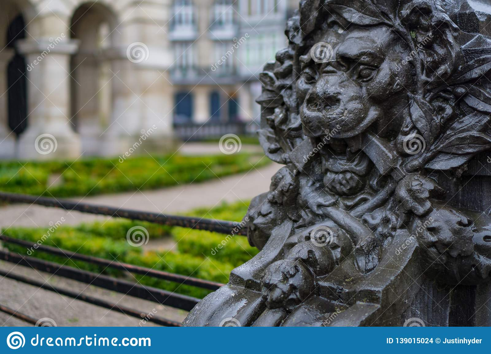 Lion Square in Lille France