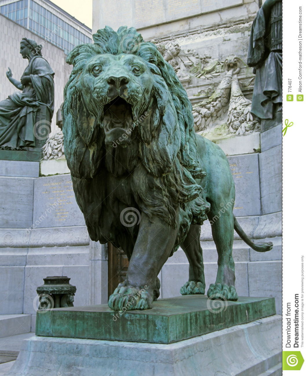 Lion Statue Royalty Free Stock Photography Image 776407