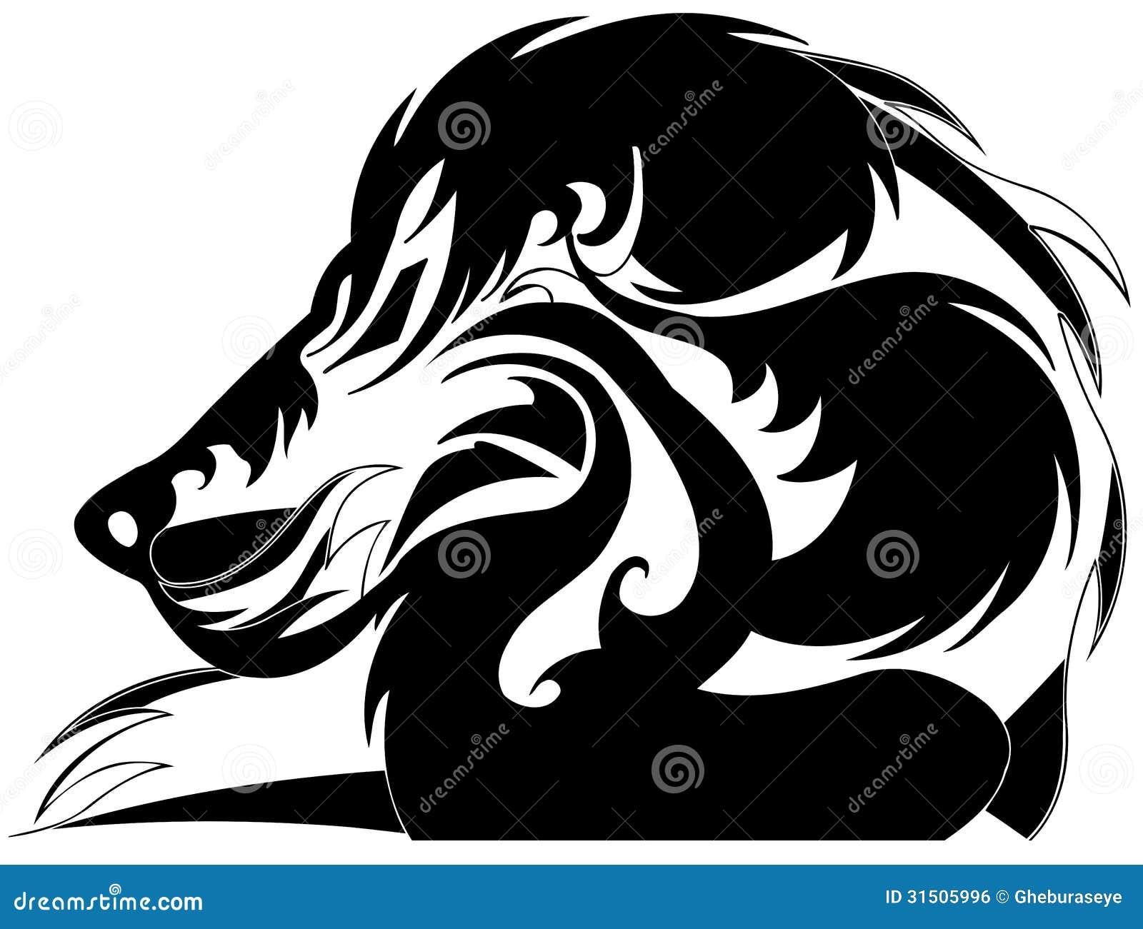 Lion stylisé