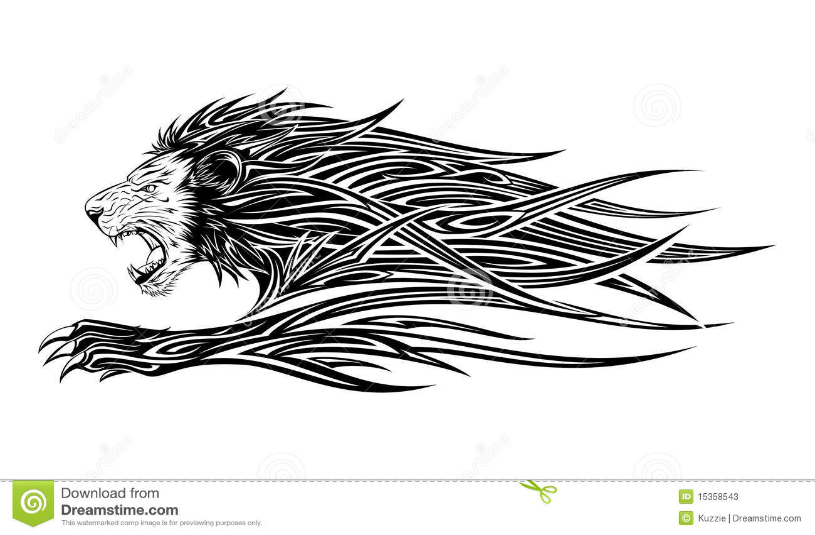 Lion Tattoo Stock Photos  Image 15358543