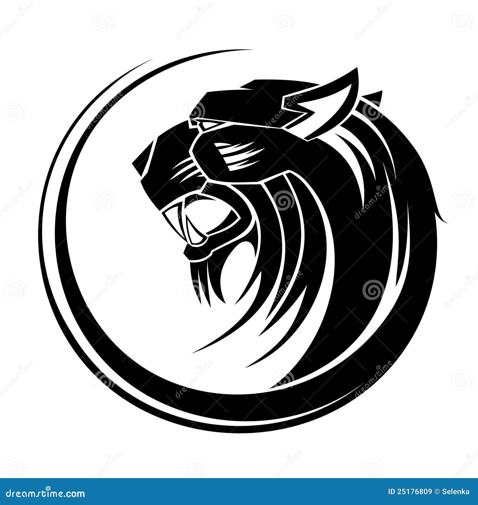 Lion Tribal Tattoo Art Stock Vector Illustration Of Artwork 25176809
