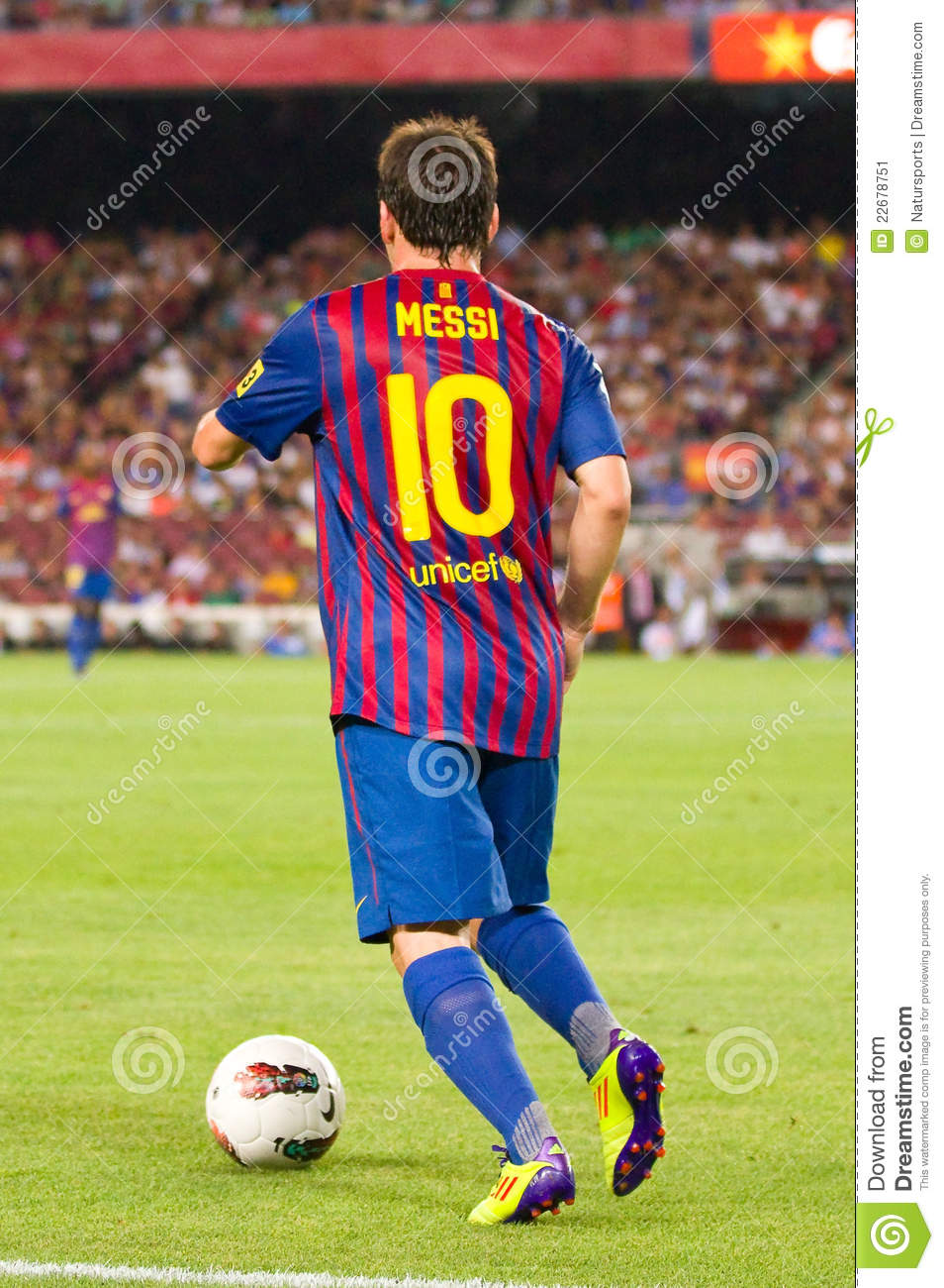 lionel messi editorial photo