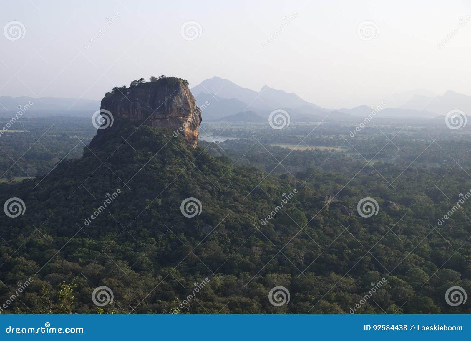 Lions Rock Sigiriya, Sri Lanka