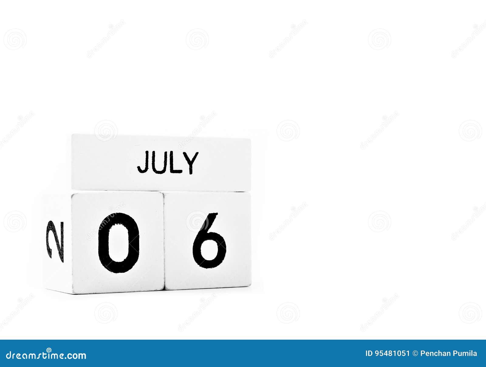 Lipa 6 bielu drewniany kalendarz