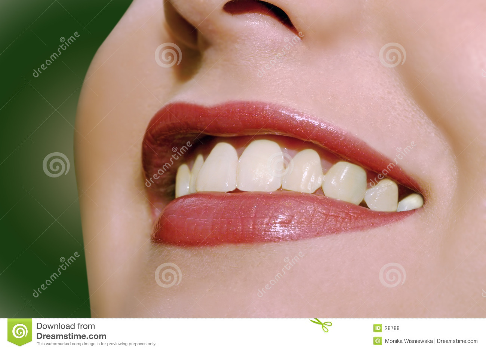 Lippen - so glücklich!