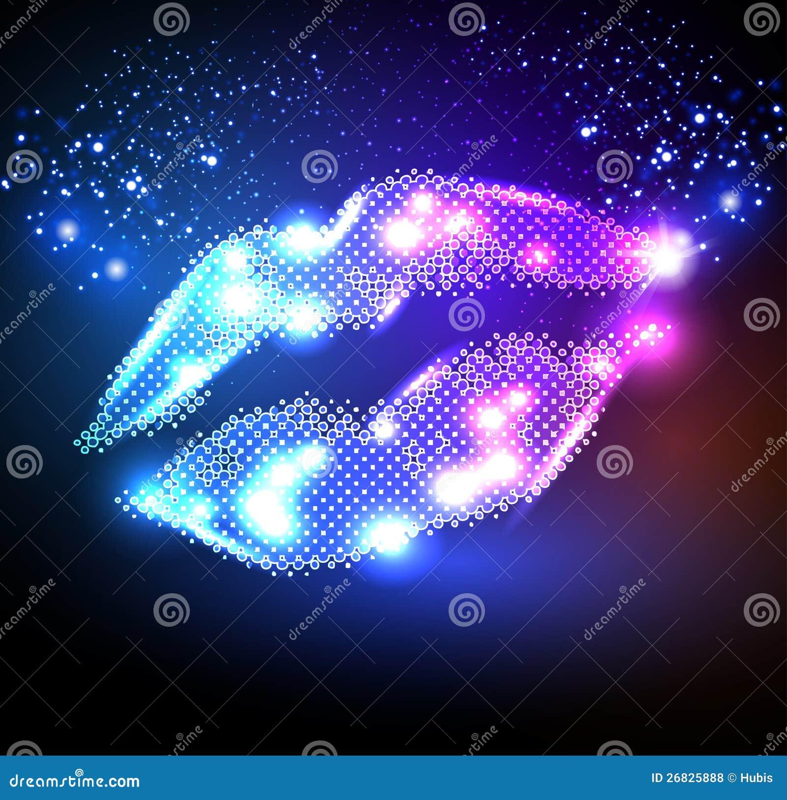 Lippen voor uw affiche