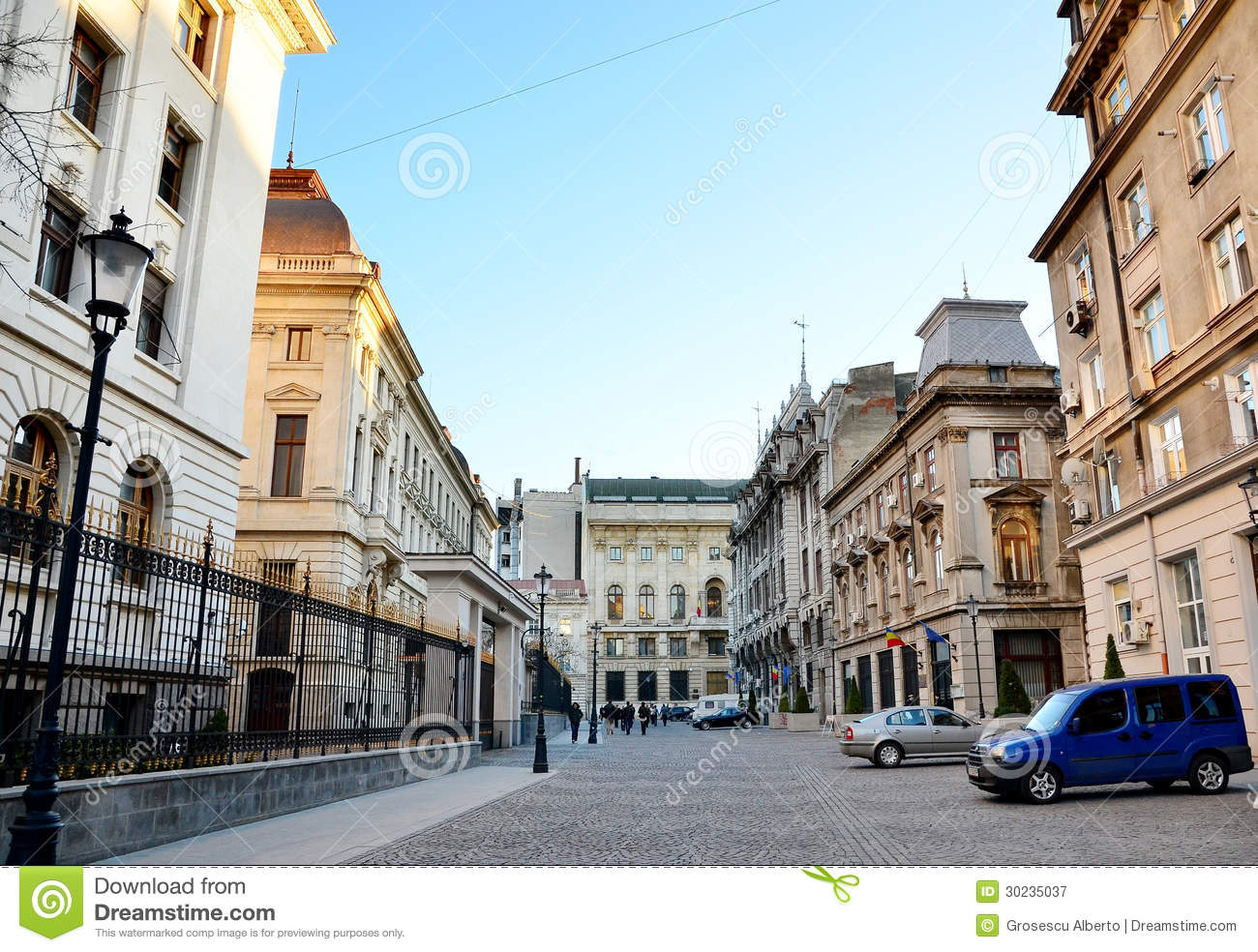 Bucharest Town Editorial Image Image Of Bucharest: Bucharest Old Town Editorial Photography