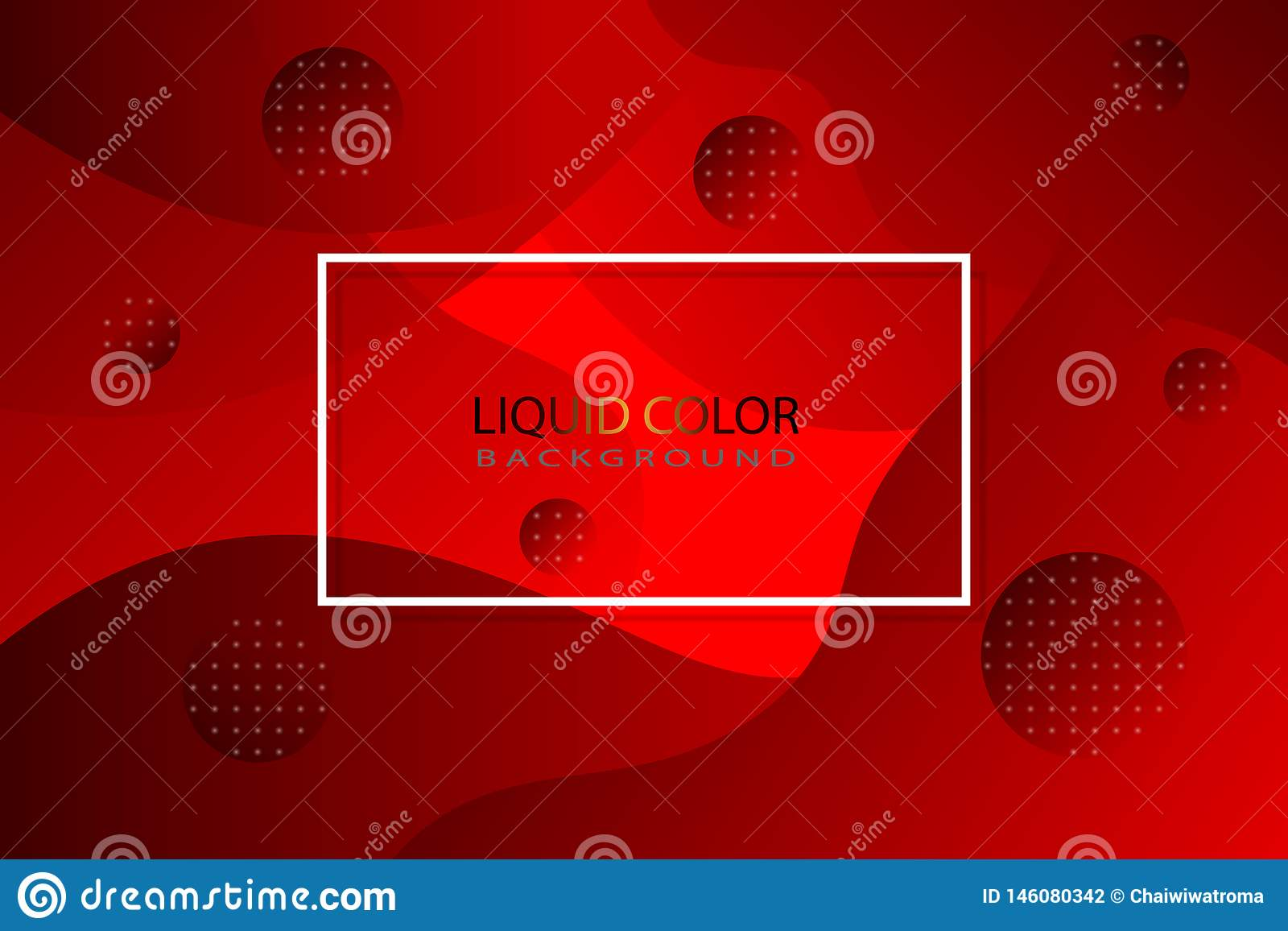 Red liquid color as background