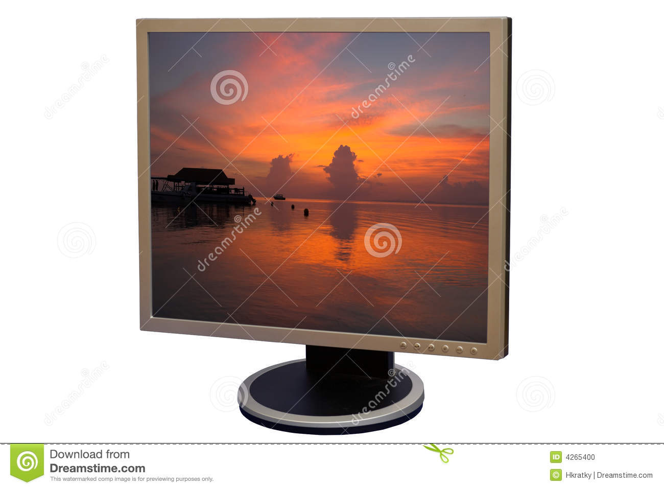 Lcd Liquid Crystal Display Stock Photo Image Of Path Background 4265400