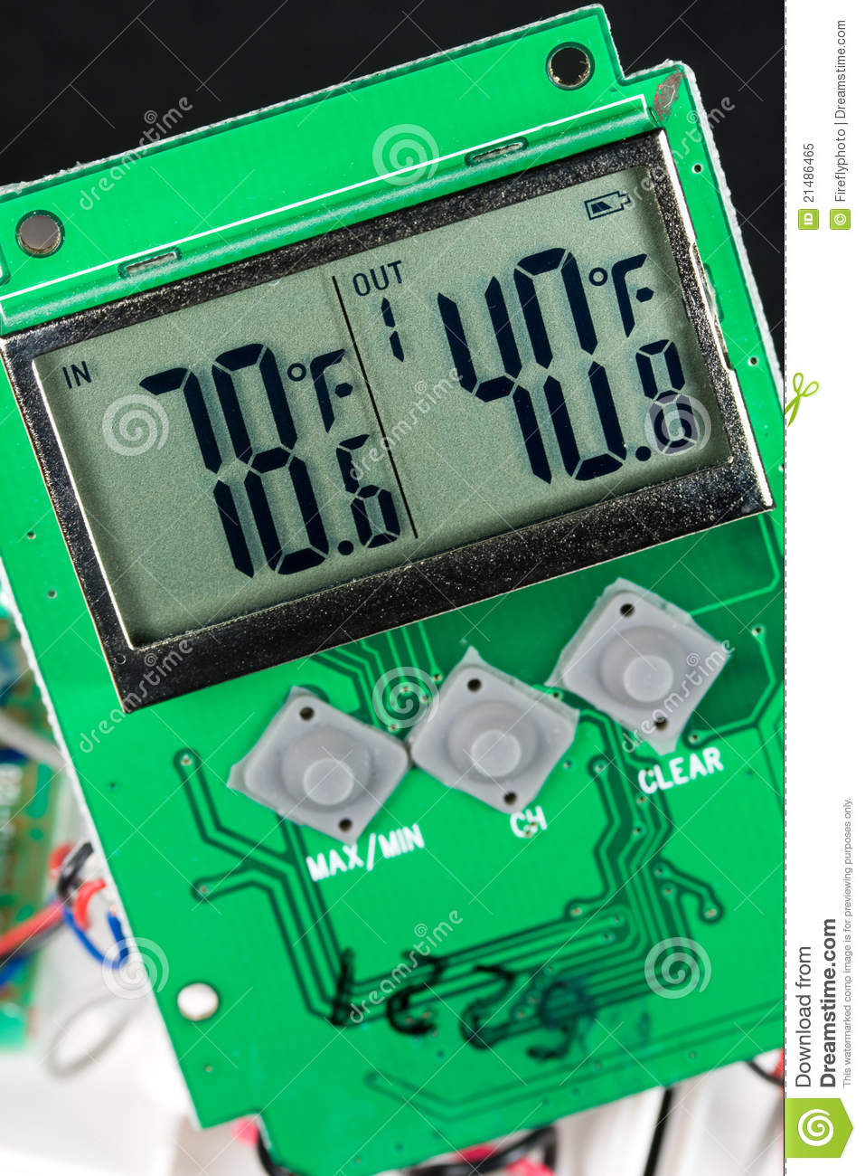 Liquid Crystal Display Lcd Stock Image Of Gauges Remote