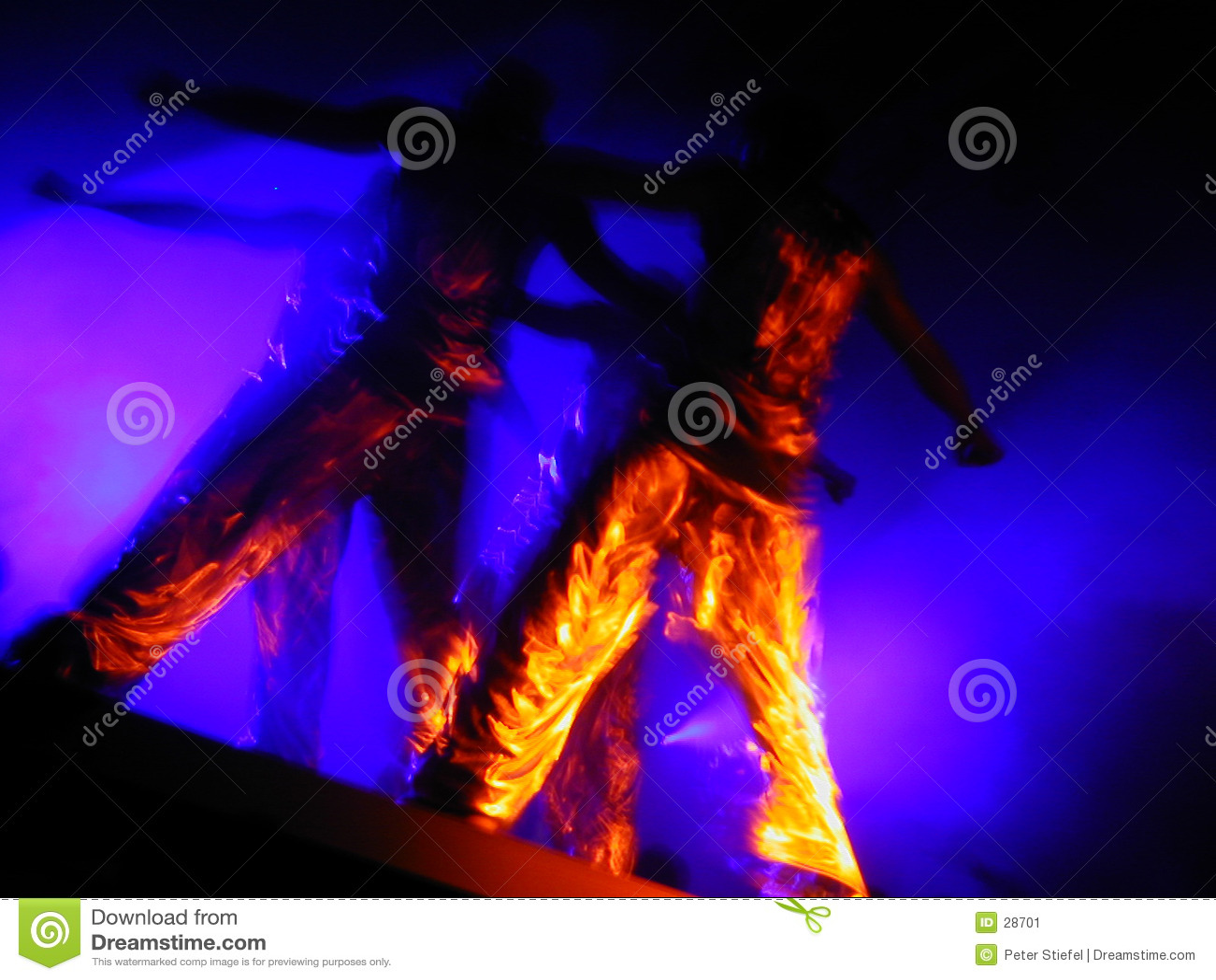 Liquid gold dance performers