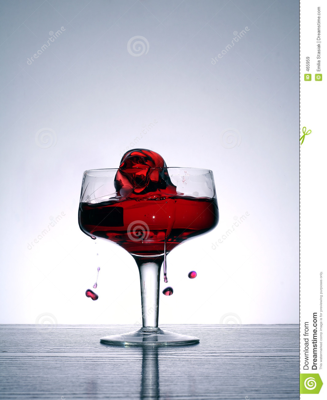 Download Liquid rose stock image. Image of bubbly, luxurious, posh - 465959