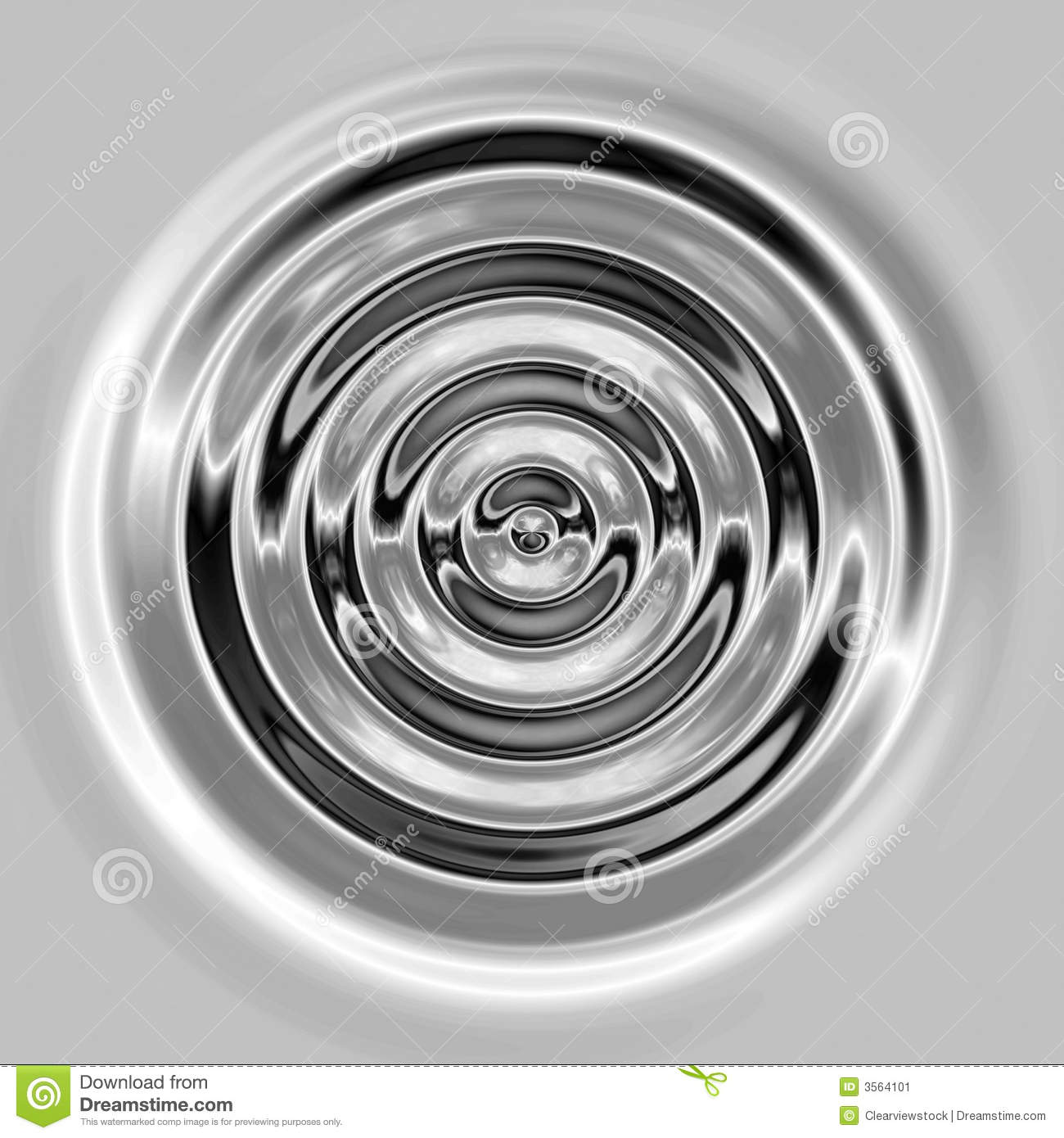 Liquid Silver Liquid Silver Ripples Or Waves Stock Illustration - Illustration ...