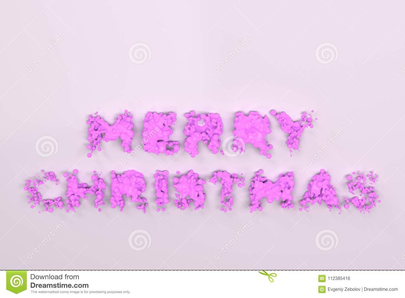 download liquid violet merry christmas words with drops on white background stock illustration illustration of