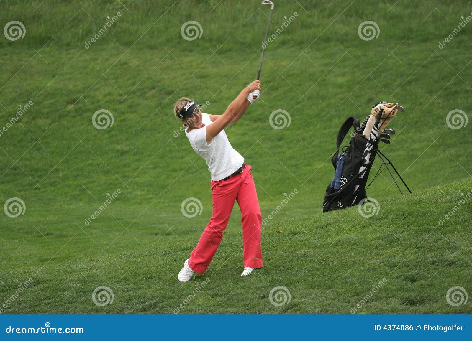 Lisa Salão, Losone 2007, senhoras do golfe européias