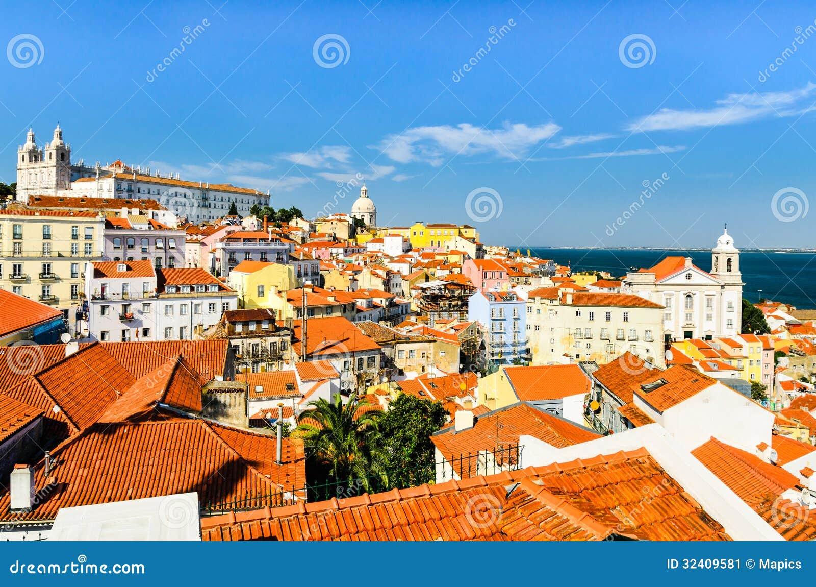 Lisbon śródmieście, Portugalia