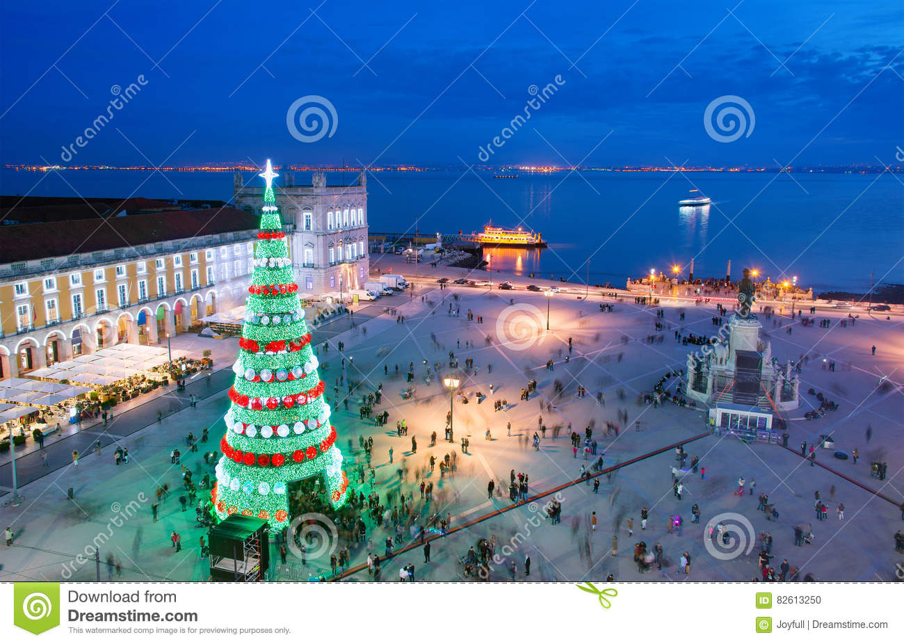 download lisbon christmas celebration portugal stock photo image of outdoor beautiful 82613250 - Christmas In Portugal