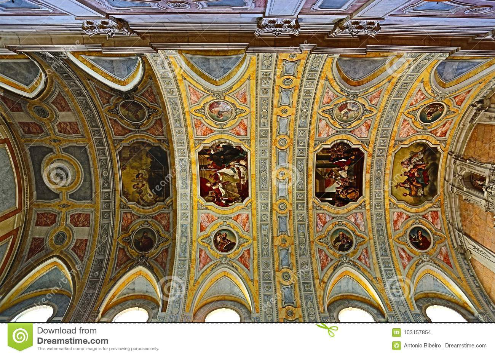 Lisbon HDR † St Nicholas kościół