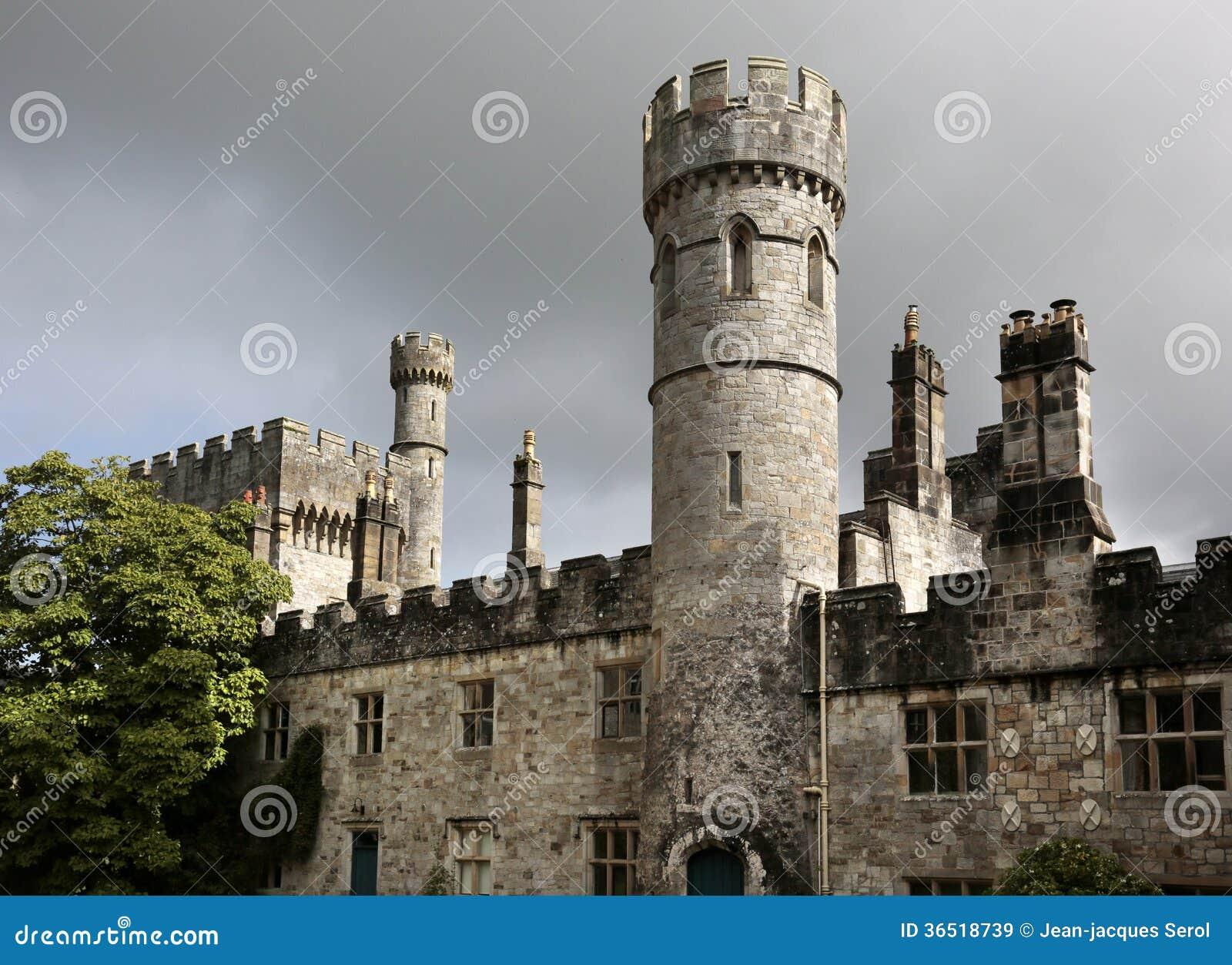 Lismore slott, Co Waterford, Irland