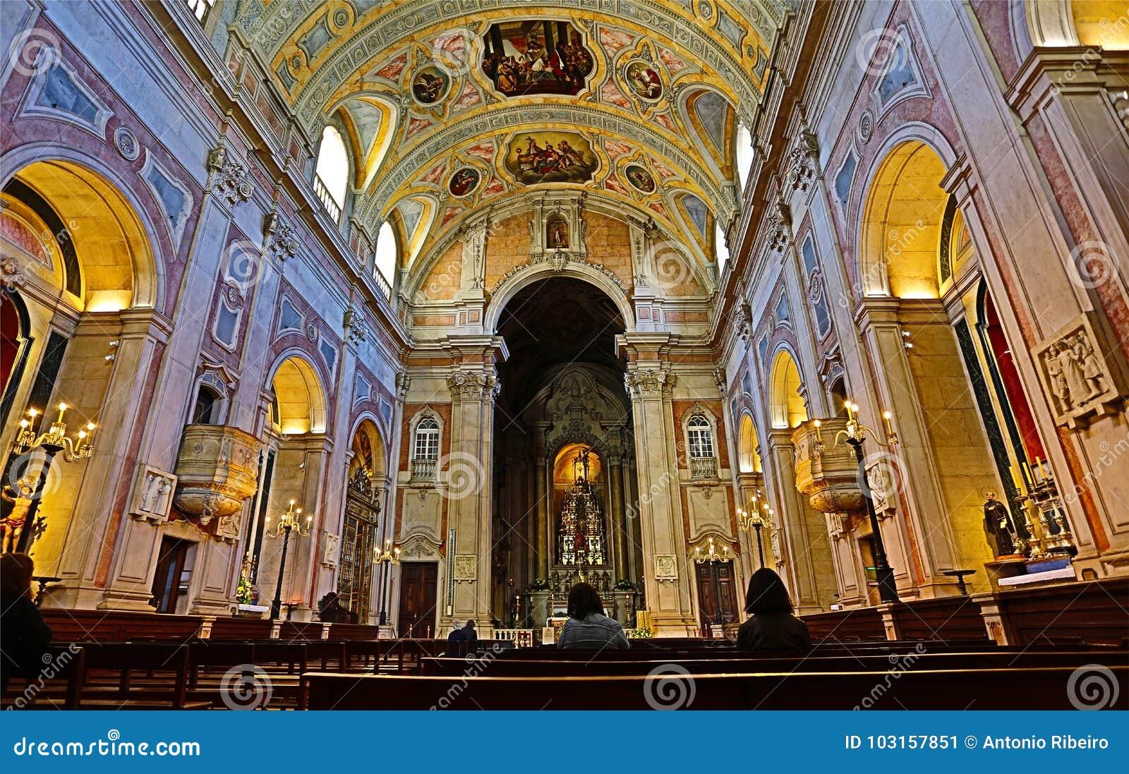 """Lissabon HDR †""""St Nicholas Church"""