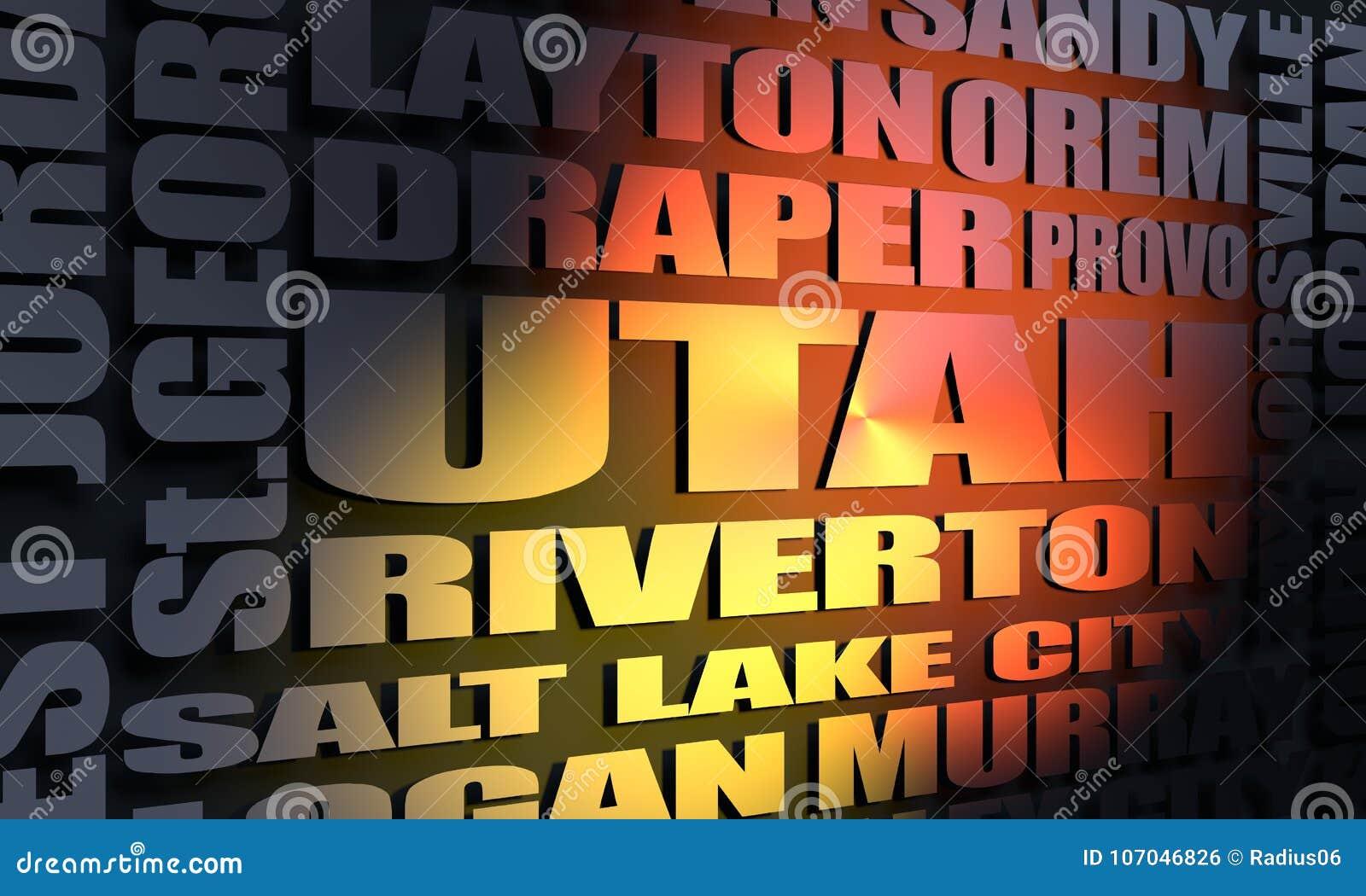 Lista de las ciudades del estado de Utah