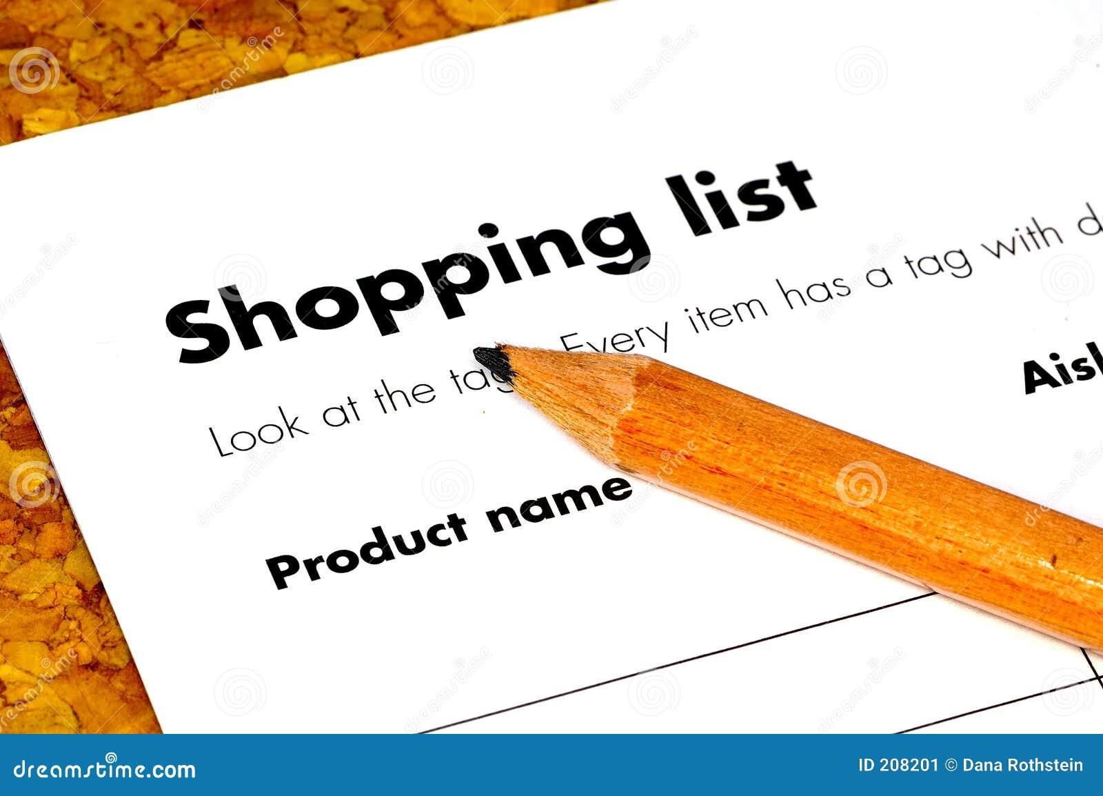 Lista di acquisto