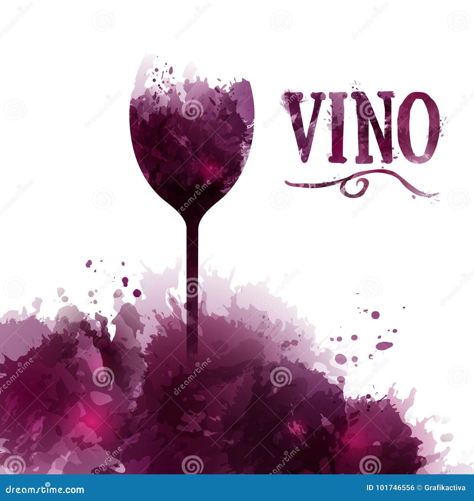 Lista Di Vino Del Modello Invito Evento O Partito Vino Nello Spagnolo Illustrazione Vettoriale Illustrazione Di Inviti Buon 101746556