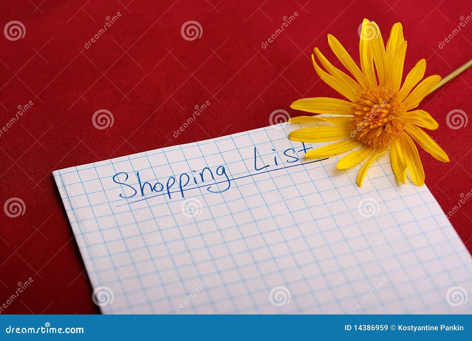 Lista shoping