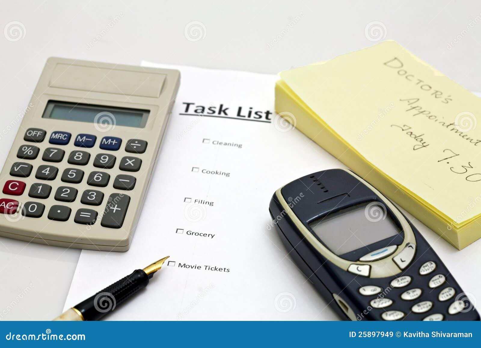 Liste de tâche