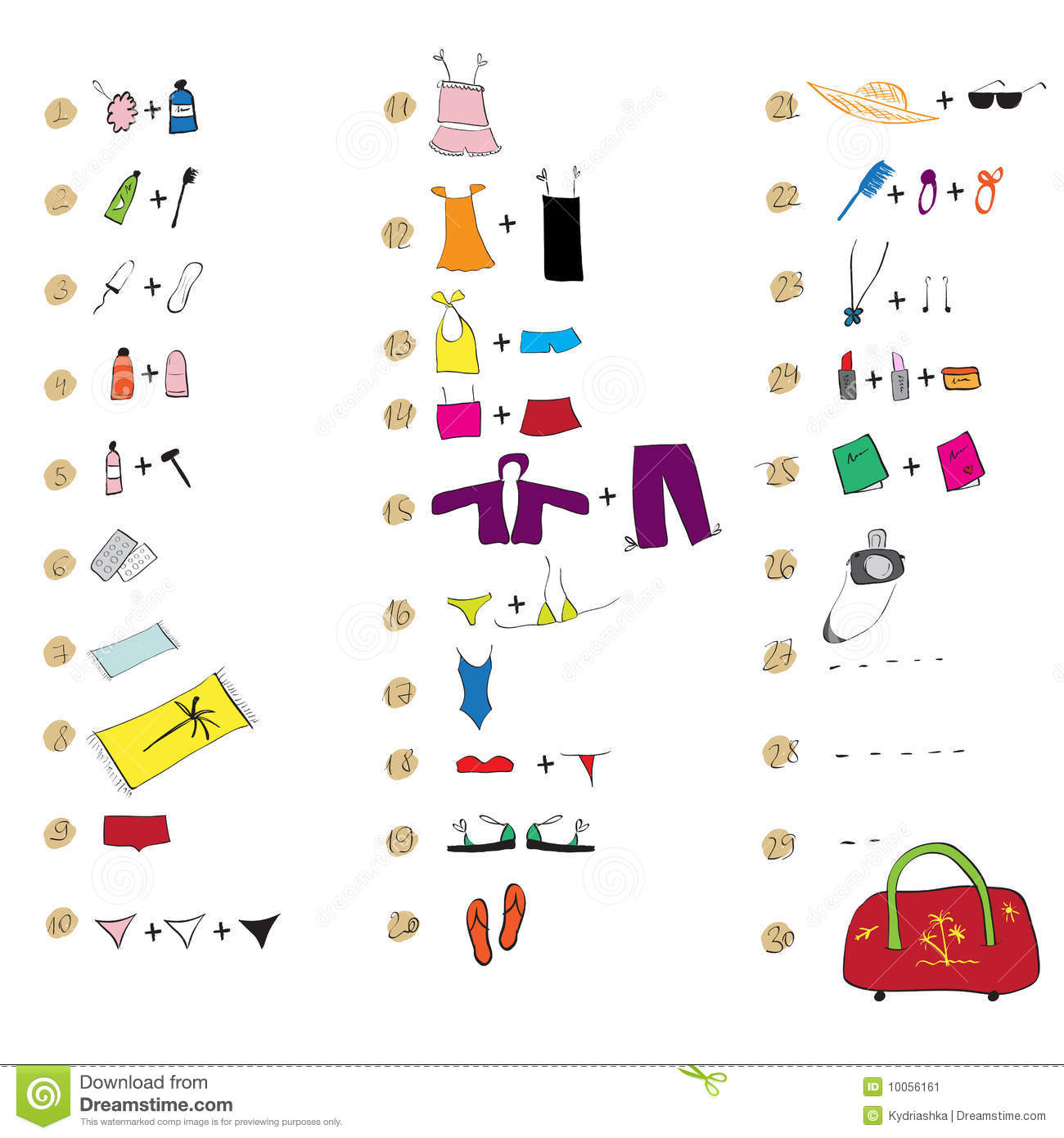 Clothes worksheet for primary