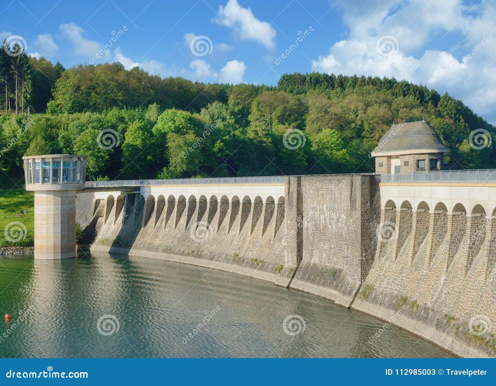 Listertalsperre Reservoir,Sauerland,Germany