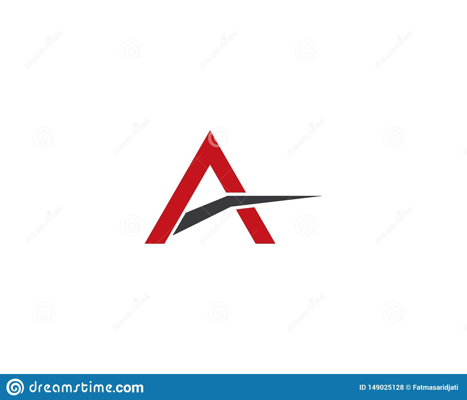 Listowa loga wektoru ikona